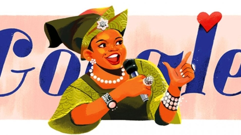 Google celebrated Nigeria's Lady of Songs, Akwa Ibom State-born Christy Essien-Igbokwe on her 58th posthumous birthday