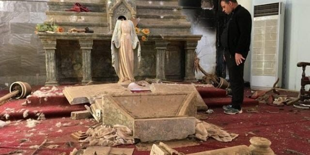 ISIS destroys churches in Iraq