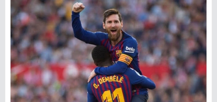 Stunning Hat Trick against Sevilla by Messi