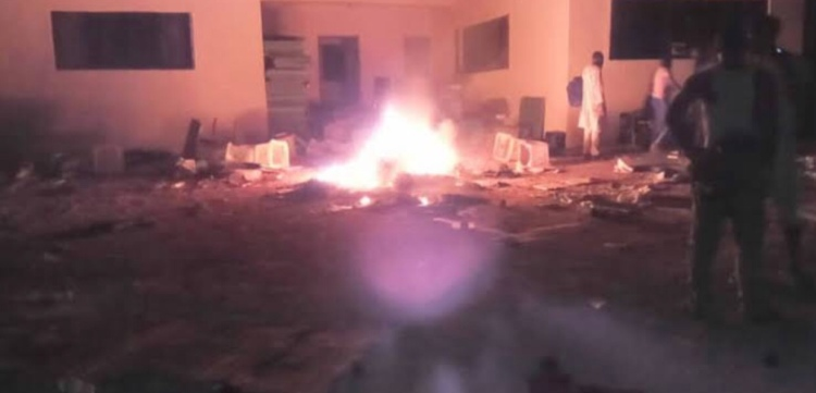Hoodlums Attack INEC office in Osun state