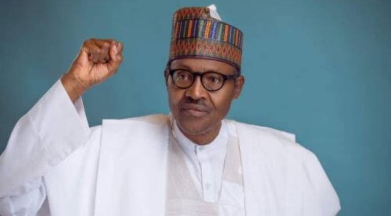 President Buhari wins second term