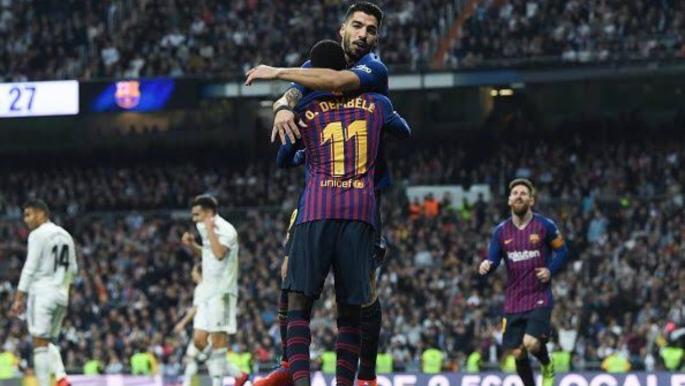 Barca beats Real Madrid 3-0 At Bernabeu, reaches Copa Final