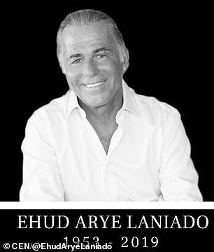 Billionaire diamond dealer Ehud Arye Laniado, 65, died when he had a heart attack during a penis enlargement procedure