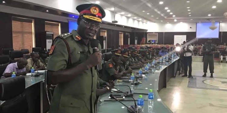 politicians plotting to disrupt governorship election – Buratai