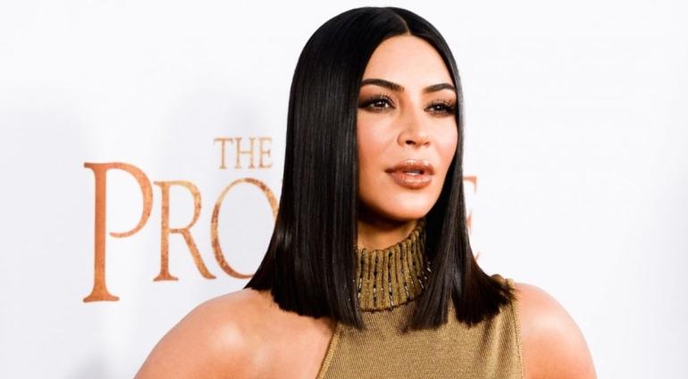 Kim Kardashian studying for Bar Exams