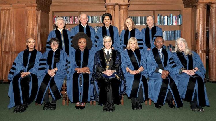 Chimamanda Adichie with honorary doctorates