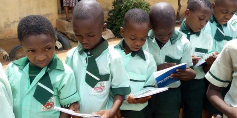 Pupils in Kaduna State