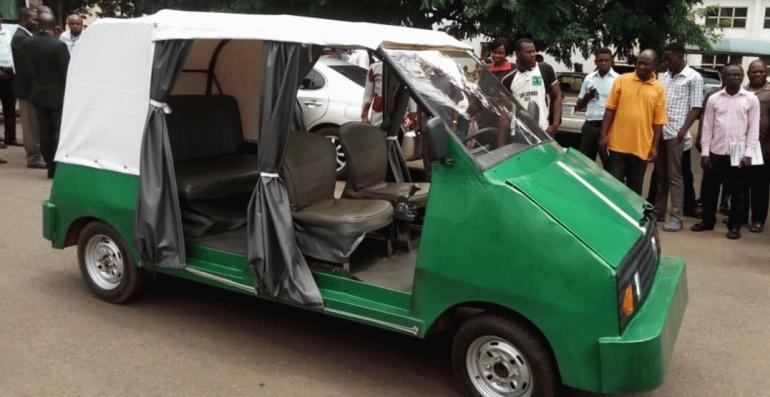 University of Nigeria Nsukka produces electric car