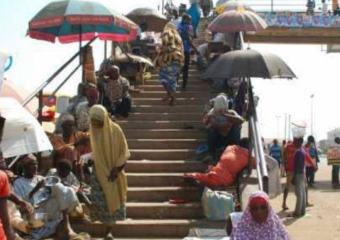 Fake beggars in Anambra