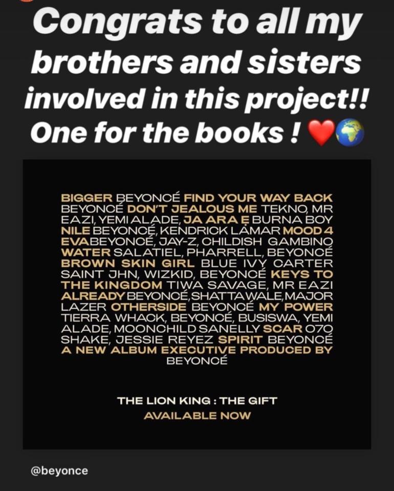 Davido congratulates wiz kid for featuring in the lion king album