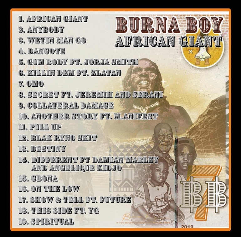 Burna Boy's African Giant Album