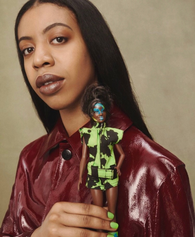 MOWALOLA CREATES OUTFIT FOR ICONIC DOLL BARBIE