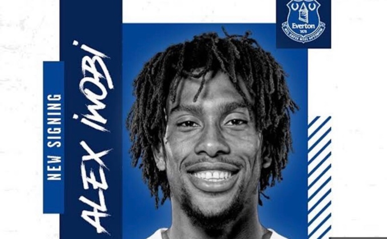 Alex Iwobi Everton