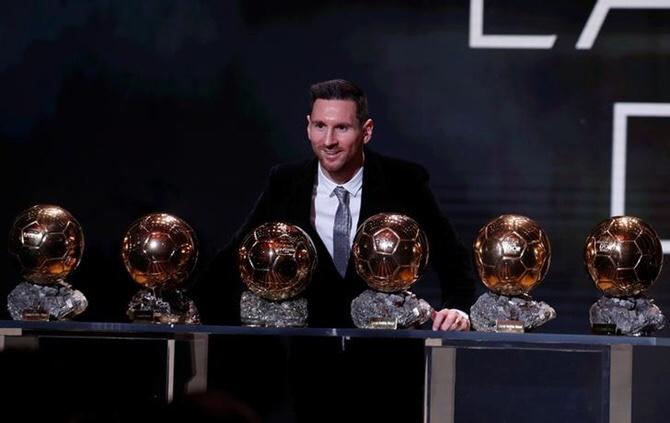 Lionel Messi wins record sixth Ballon d'Or