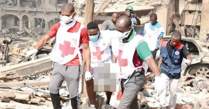 Abule ado Lagos explosion